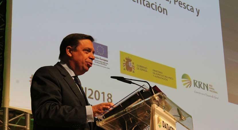 """Luis Planas: """" agricultura futuro deberá ser más inteligente, sostenible y competitiva"""""""