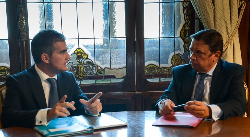Luis Planas resalta regadío como clave competitividad agricultura española