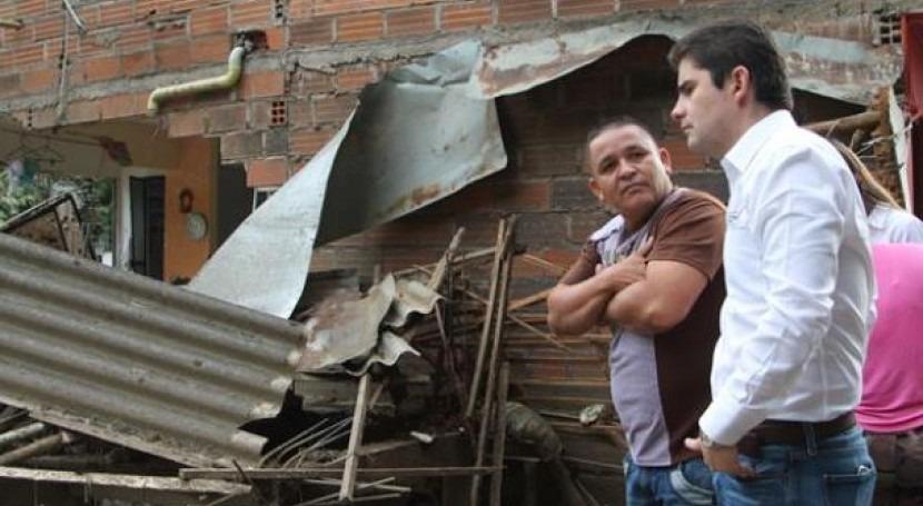 Luis Felipe Henao gestionará reconstrucción Salgar