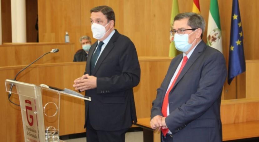 MAPA apuesta regadío sostenible como motor desarrollo zonas rurales Granada