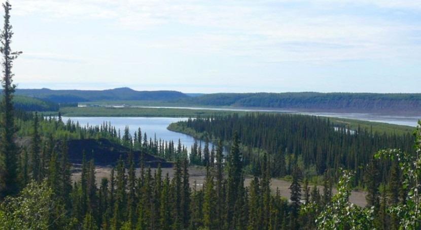¿Cuál es río más grande Canadá?