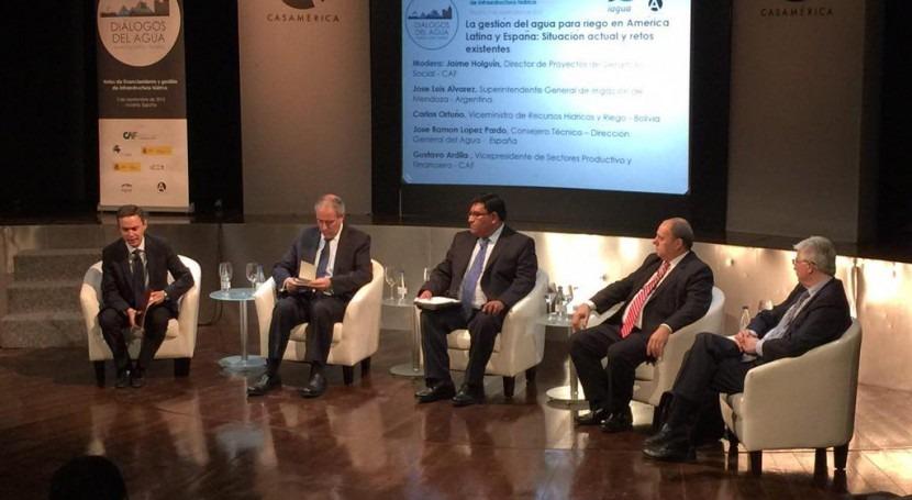 Irrigación participará II Diálogos Agua América Latina y España.
