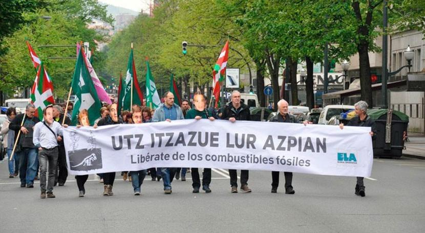 ELA exige políticas cambio climático al Gobierno vasco