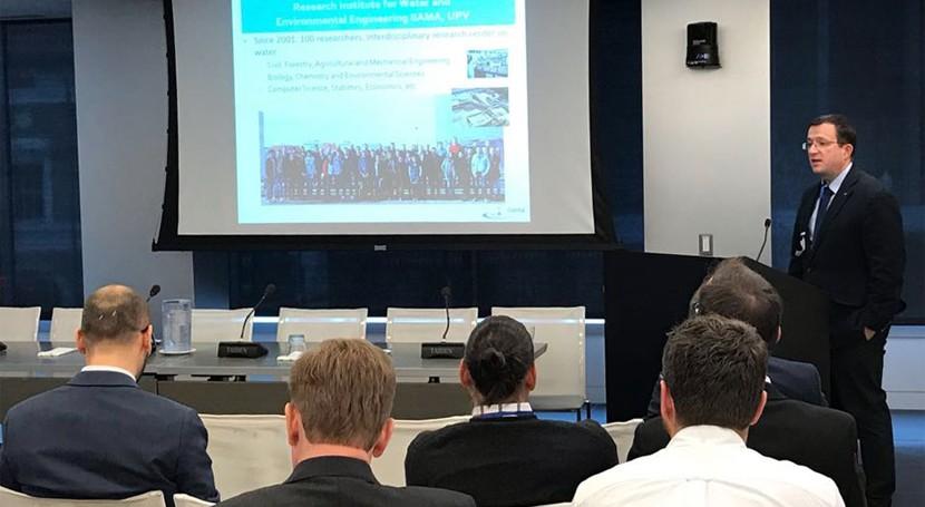 Manuel Pulido participa como experto evento agua y cambio climático Banco Mundial