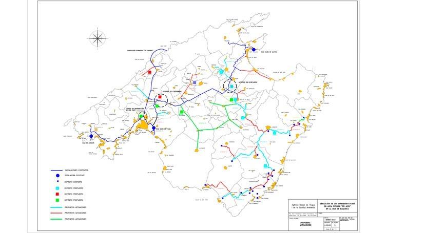 Visto bueno conducción agua potable Maria-Petra