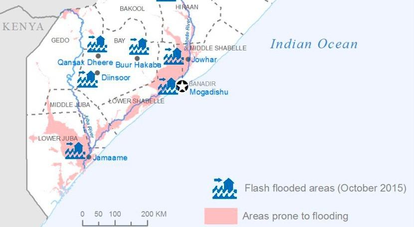 inundaciones provocadas ' Niño' Somalia dejan miles afectados