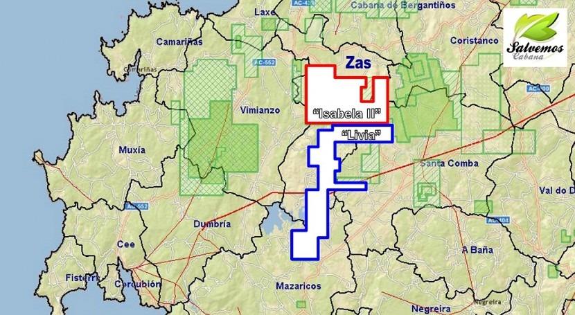 """¿Otro Corcoesto? Zas, nueva """"zona cero"""" reactivación minería oro Galicia"""