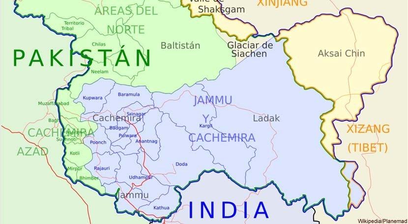 conflicto Cachemira: agua también juega papel importante