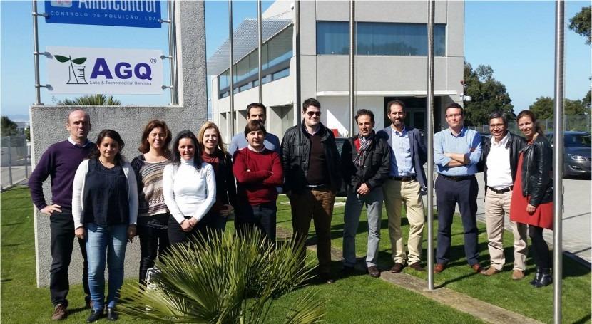 AGQ Labs Medio Ambiente se reúne nuevo laboratorio Portugal