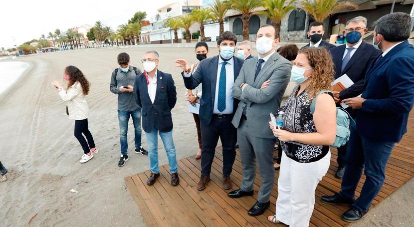 comisario europeo Medio Ambiente se compromete trabajar recuperación Mar Menor