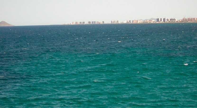 Mar Menor alcanza mínimos turbidez pasado agosto