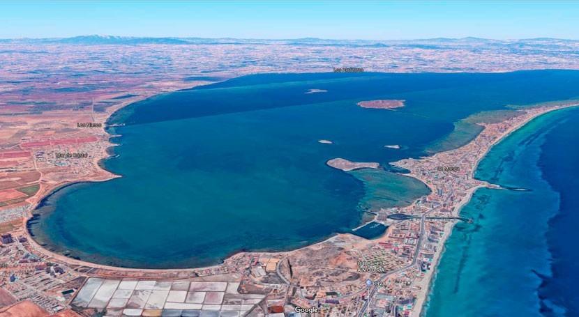 Publicada última actualización informe actuaciones recuperación Mar Menor