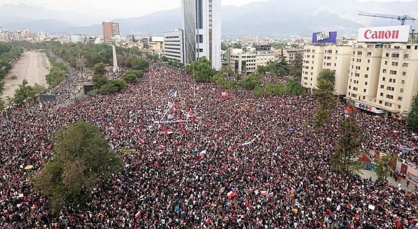 levantamiento social Chile y movimientos ambientalistas