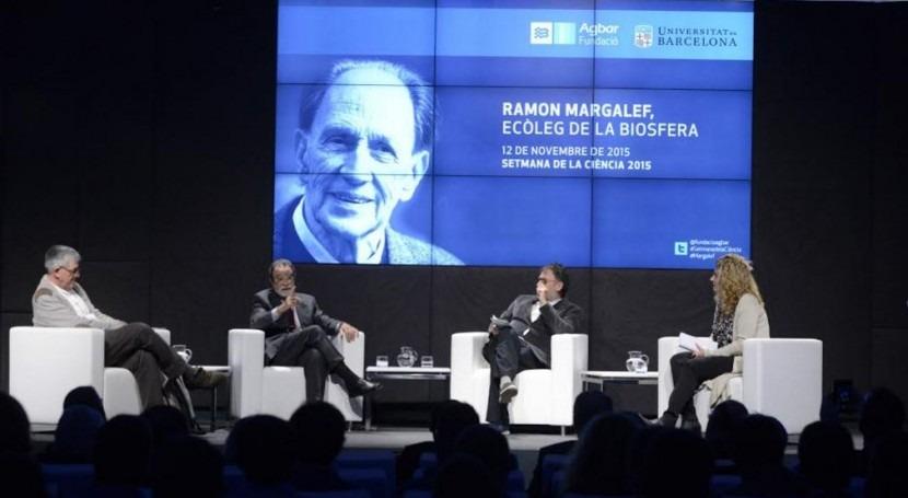 Fundación Agbar presenta biografía Ramon Margalef, ecólogo catalán más universal