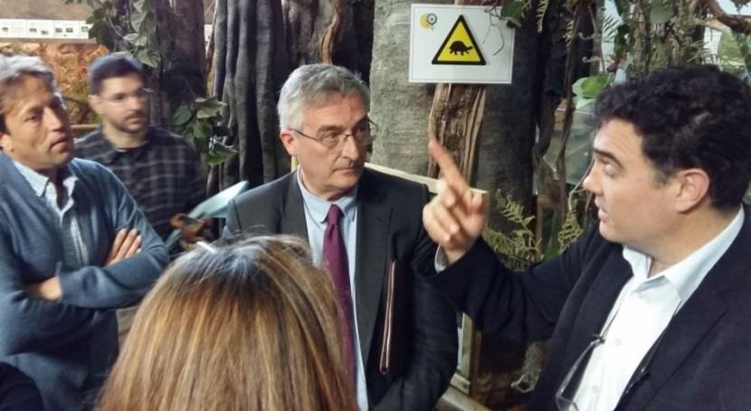 marcha proyecto Aragón reproducir margaritona través esturiones
