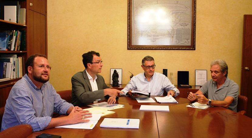 presidente CHS se compromete impulsar coordinación regeneración Río Segura