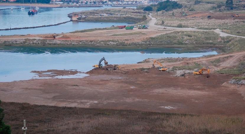 Restaurar marismas Cantabria, clave adaptación al cambio climático