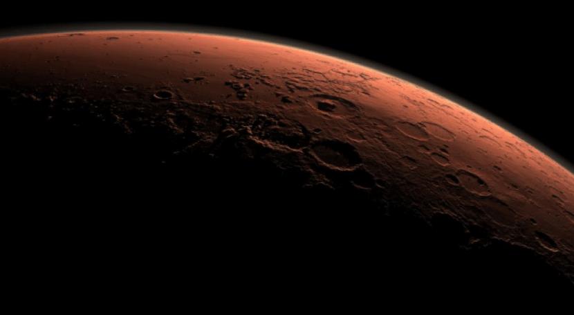 bombardeo cometas y asteroides fundió hielo Marte hace 4.000 millones años