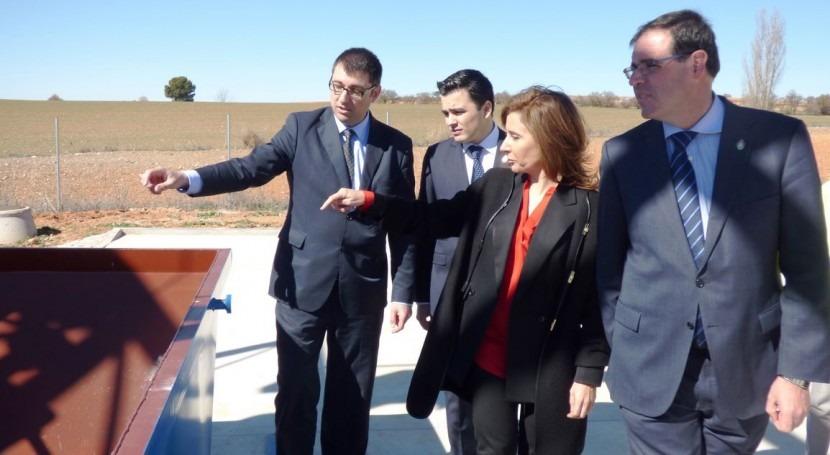La consejera de Fomento de Castilla-La Mancha, Marta García de la Calzada