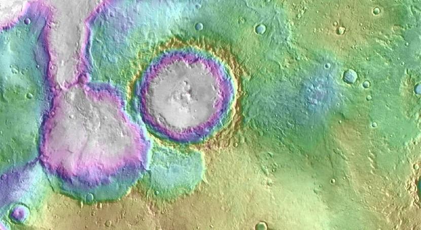Hace 2.000 millones años Marte experimentó segunda era húmeda
