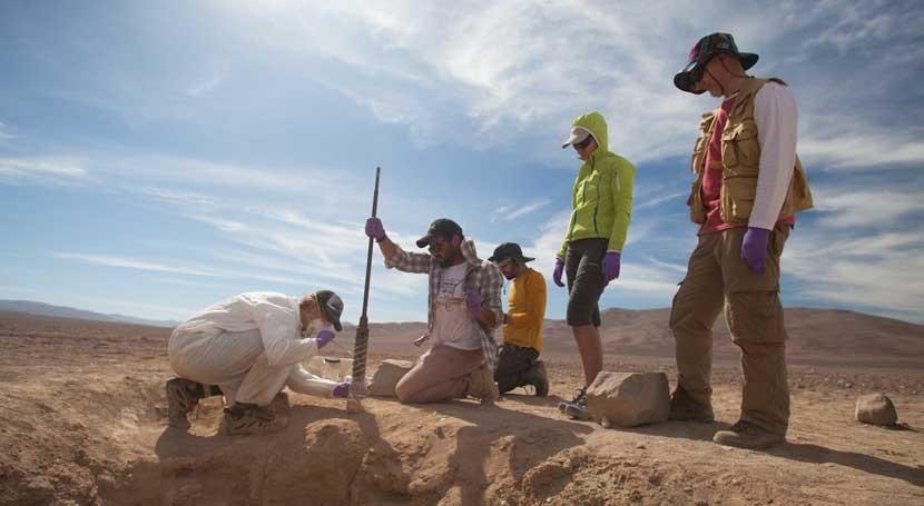 lugar más seco Tierra se convierte campo pruebas vida Marte