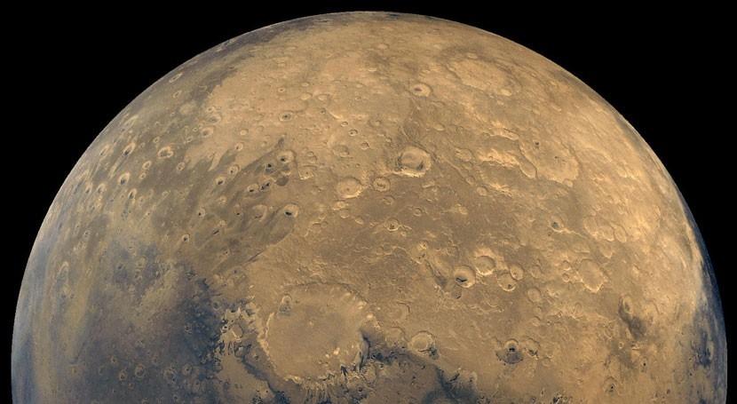 misteriosas manchas Marte, ¿causadas agua hirviendo?