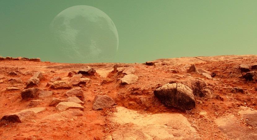 """""""Marte Rojo"""": """"Guerra y Paz"""" ciencia ficción"""