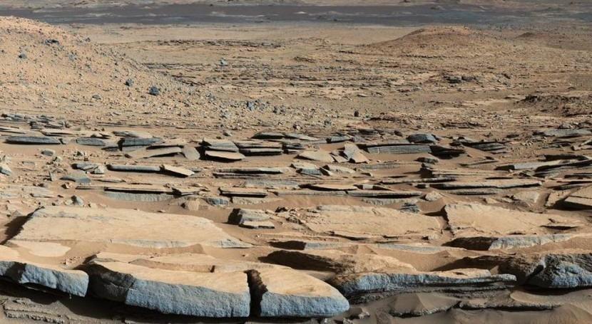 Huellas antiguos lagos cráter Marte revelan paleoclima húmedo