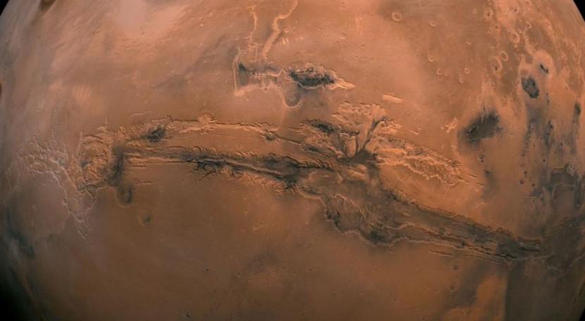 Descubiertas nuevas evidencias agua salada Marte