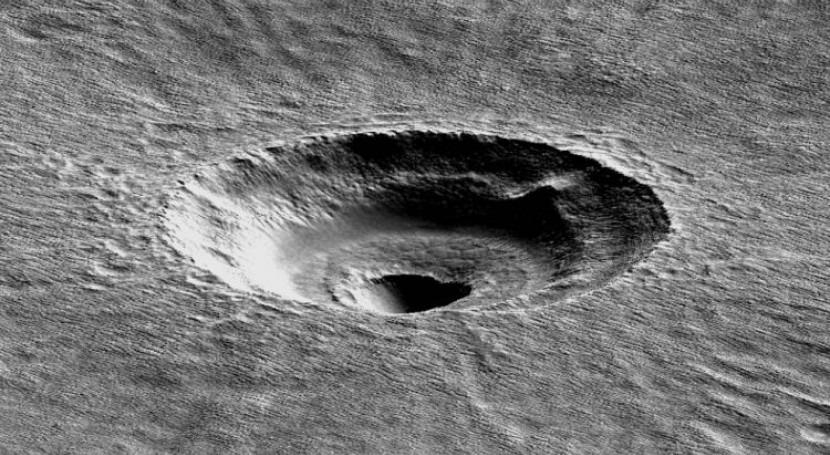 Marte esconde superficie losa hielo tan grande como California y Texas juntos
