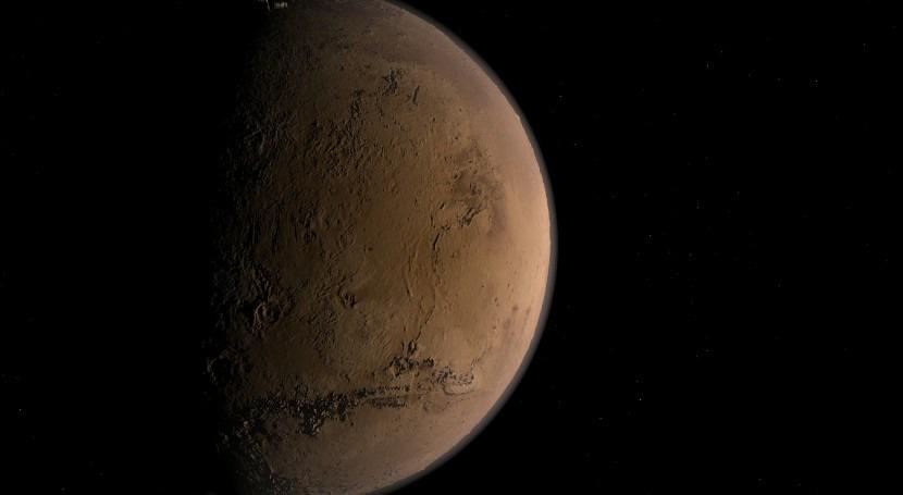 Un estudio de la NASA sostiene la presencia de abundante agua en Marte hace millones de años