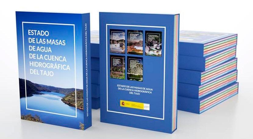 """CHT publica libro """"Estado Masas Agua Cuenca Hidrográfica Tajo"""""""