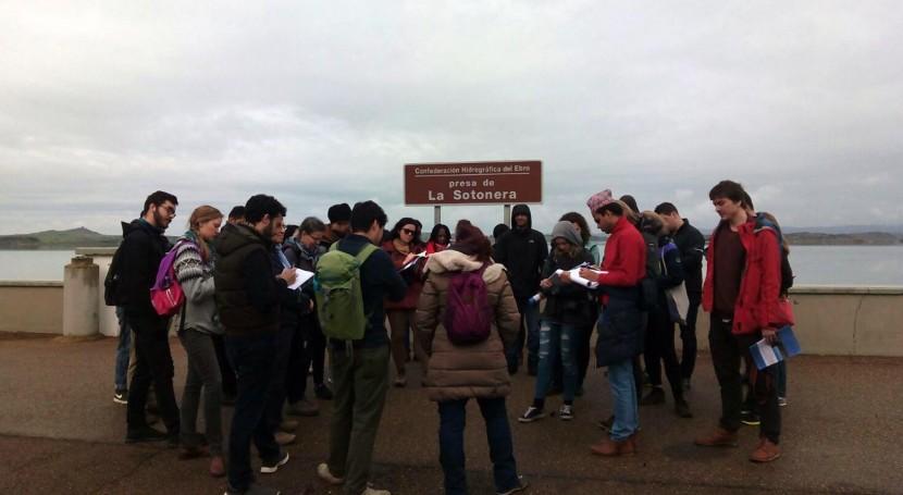 Alumnos Universidad Oxford estudian gestión agua cuenca Ebro