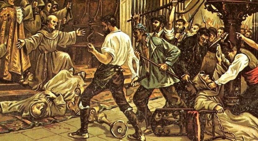 Historias Madrid (VII): matanza frailes 1834