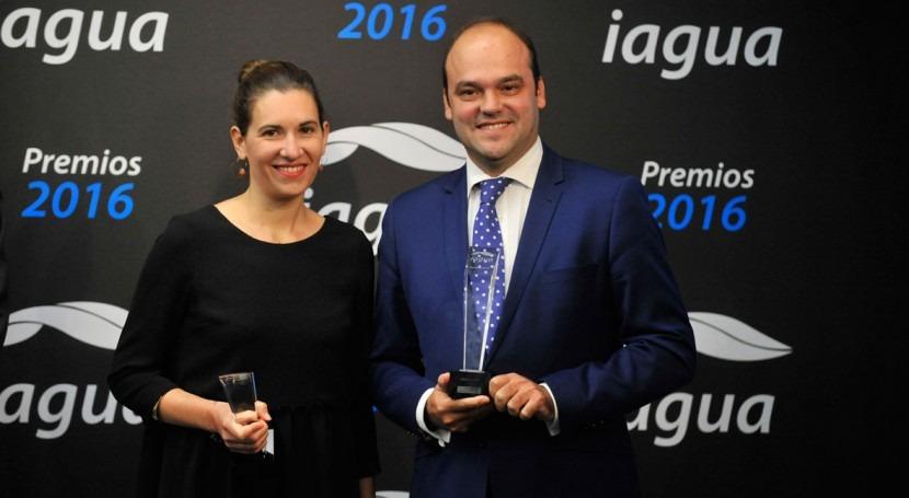 Iwater recibe premio iAgua al Mejor Evento año sector