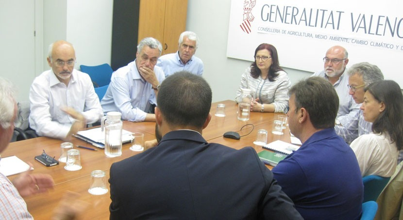 Tribunal Aguas Valencia presenta demanda necesidades hídricas al Consell