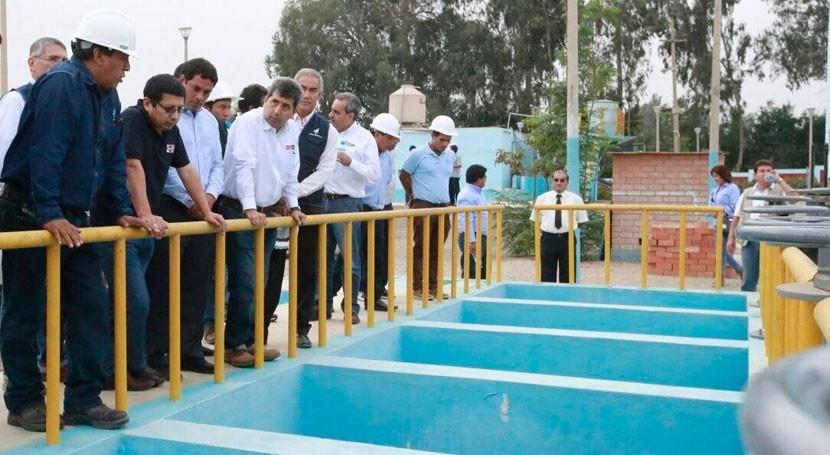 Perú apuesta mejora redes abastecimiento y saneamiento todo país