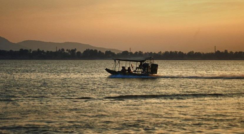 Río Mekong en Laos (Wikipedia/CC).