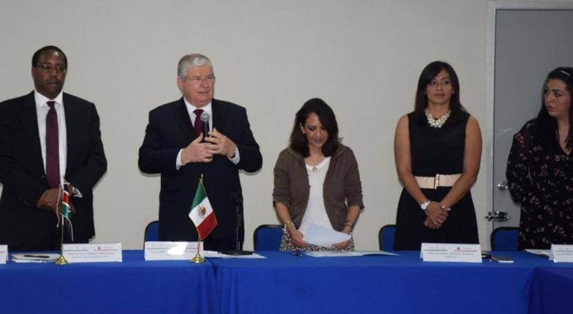 Kenia y México estrecha colaboración materia gestión recursos hídricos