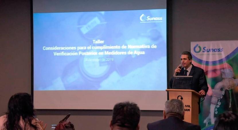 instalación medidores contribuye que más personas accedan al agua potable Perú