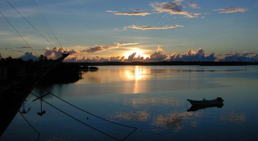 cambio climático y subida nivel mar ponen peligro Micronesia y Nauru