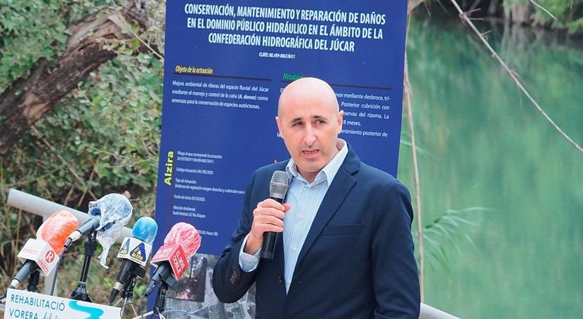 Miguel Polo, nuevo presidente Confederación Hidrográfica Júcar