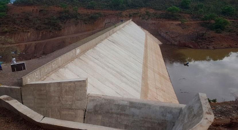 presa Millu Mayu garantiza riego 169 hectáreas Bolivia