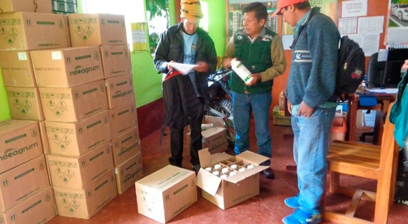 Perú otorga semillas y abono agricultores afectados bajas temperaturas y déficit hídrico