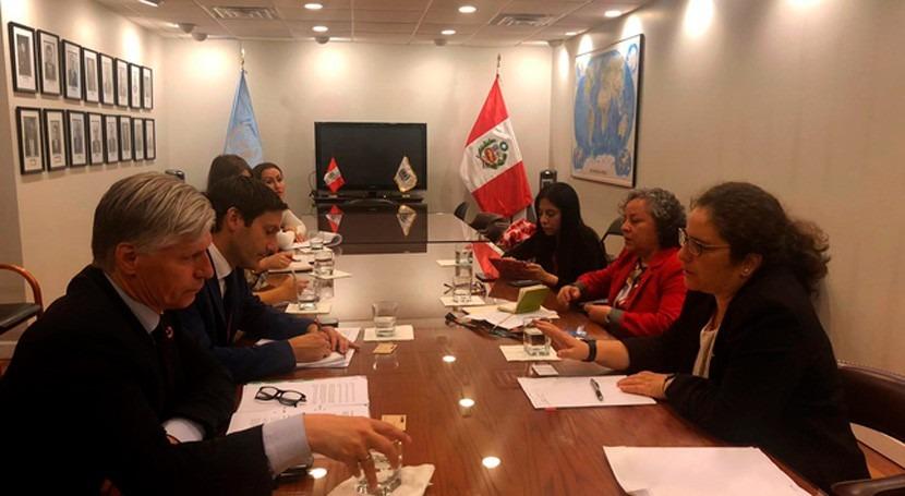 Perú se suma Reino Unido y Egipto hacer frente al cambio climático