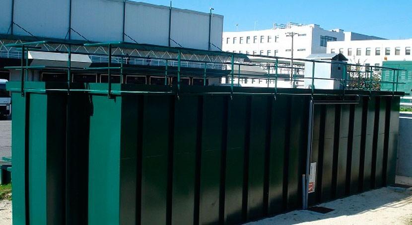 Minibloc AP, solución compacta degremont® nuevo Centro Jerónimo Martins