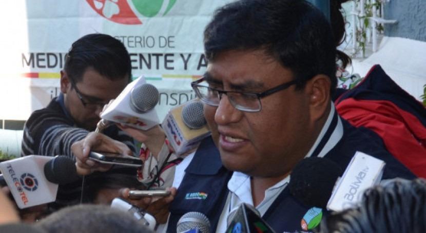 Bolivia se compromete alcanzar 100 % cobertura agua y alcantarillado sanitario 2025