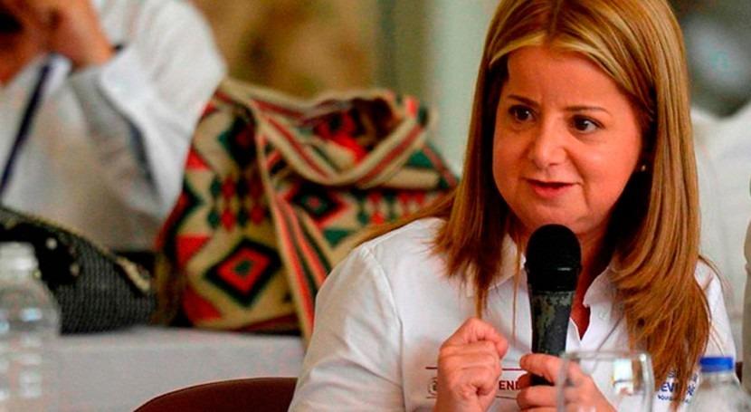 """Elsa Noguera: """" esquemas regionales, llevaremos agua más lugares Guajira"""""""