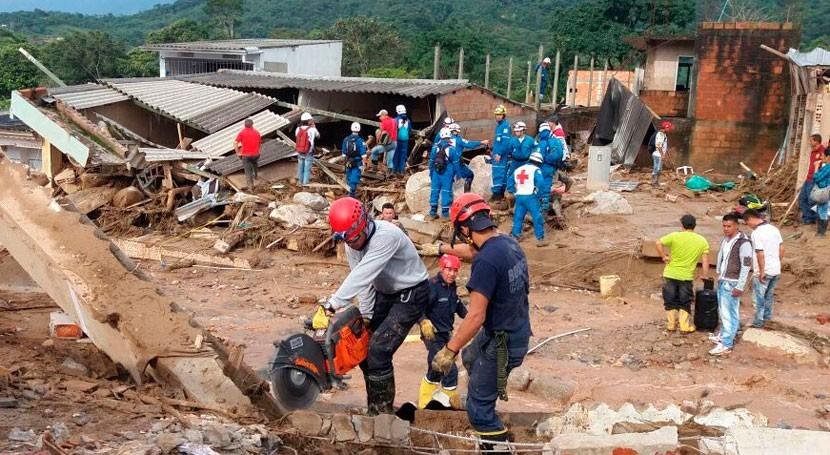 Organización Internacional Migraciones llega Mocoa ayudar víctimas