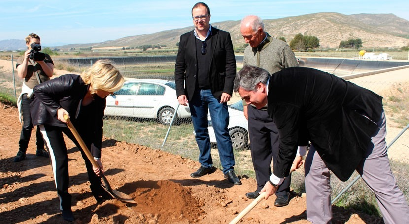 Murcia invertirá 1,2 millones modernizar red riego regantes Miraflores